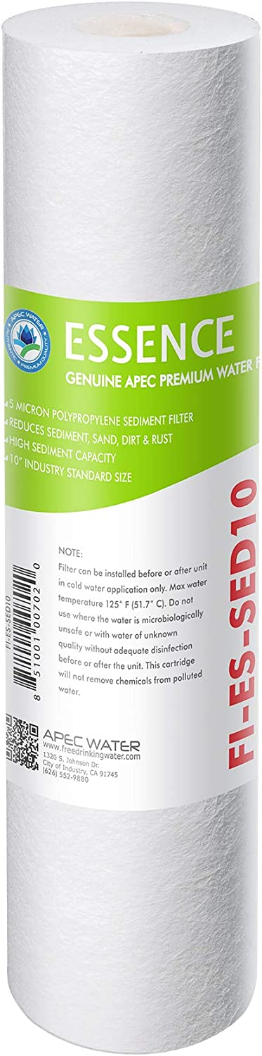 """APEC 5 Micron Fixed price for sale 10"""" x 2.5"""" Sediment Rev Water Filter For Factory outlet"""