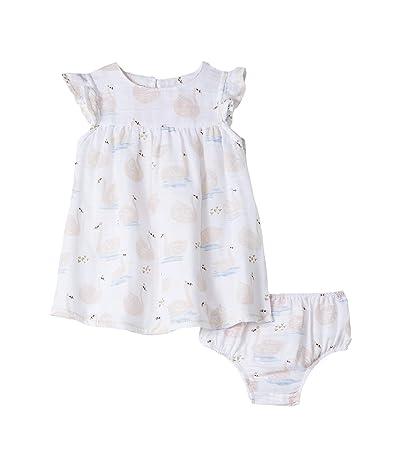 Mud Pie Muslin Swan Dress (Infant/Toddler) (Pink) Girl