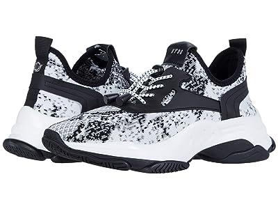 Steve Madden Myles Sneaker (Black/White) Women