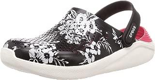 Crocs 卡骆驰 凉鞋 LiterRide HYPER 花朵洞鞋