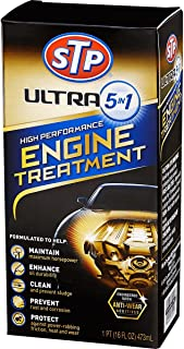 STP 17632 Ultra 5-In-1 High Performance Engine Treatment 16 Ounce Motor Oil Additive