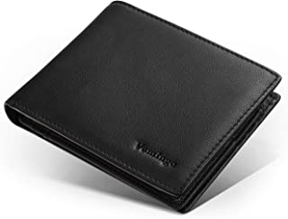 Vemingo Portefeuille Homme RFID Blocage avec Poche à Monnaie   Porte-Carte pour Carte d'Identité, Carte Grise,Cartes de Cr...