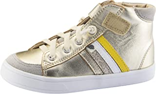 Boy's and Girl's High-Top-RB Leather Sneakers