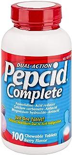 Pepcid Complete Berry Flavor - 100 Chewable Tablets (50ct x2 bottles)
