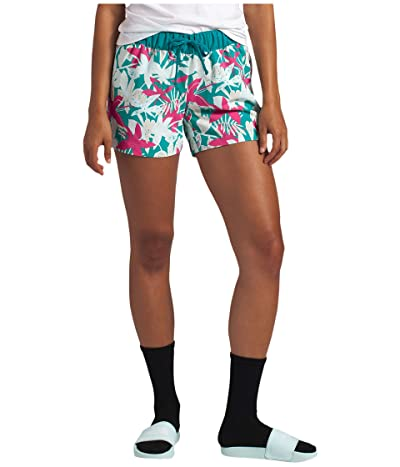 The North Face Class V Shorts (Mr. Pink Creekside Stripe Print) Women