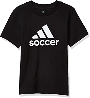 adidas Boys' Badge of Sport Soccer Tee