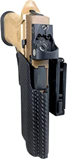 Black Scorpion Gear OWB Kydex Competition Holster, IDPA Approved fits Sig Sauer P320 Compact/Full, X5 Legion