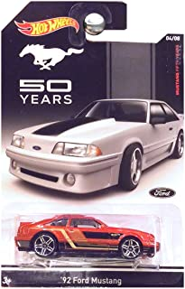 Hot Wheels 50 Years 50th Anniversary 1992 Ford Mustang Copper Brown Orange Red Fox Body
