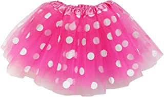 Kids, Adult, or Plus Size Polka DOT Tutu Skirt Halloween Costume Dress