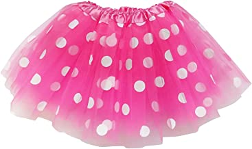 So Sydney Kids, Adult, or Plus Size Polka DOT Tutu Skirt Halloween Costume Dress