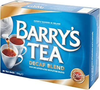 Barry's Tea Bags, Decaffeinated, 80 Count