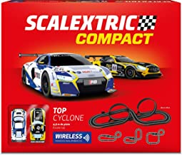 Scalextric- Circuito Top Cyclon 1/43 Mandos Wireless, Multicolor, Talla Única (Scale Competiton Xtreme 14)