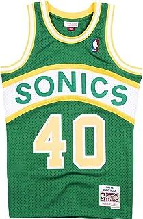 Mitchell & Ness Shawn Kemp 40 Replica Swingman NBA Jersey Seattle Supersonics HWC Basketball Trikot