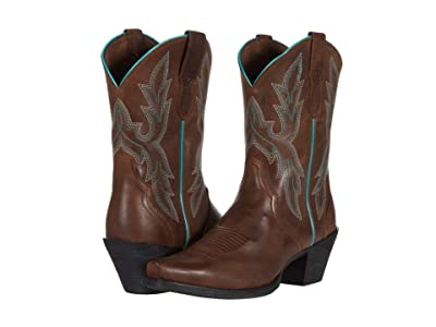 Ariat Round Up Bella (Barnwood) Cowboy Boots