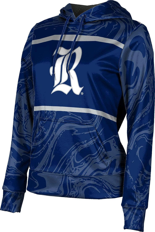 ProSphere Rice University Girls' Pullover Hoodie, School Spirit Sweatshirt (Ripple)