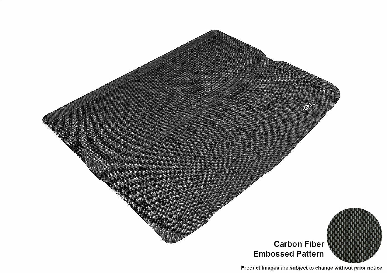 徹底伝導率階段3D Maxpider M1IN0281309 Cargo Custom Fit All-Weather Floor Mat for Select Infiniti QX30 Models - Black