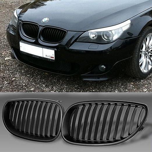 Sports Grill RADIATOR GRILLE BMW e60 e61 5er Saloon Touring Black Piano Lacquer
