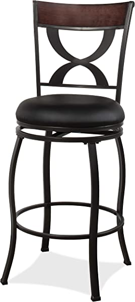Hillsdale Furniture 4937 826 Stockport Counter Stool Height Black