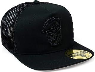Call Of Duty: Black Ops 4 Skull Logo Emblem Trucker Hat   Official Black Ops Embossed Logo Design   Sized For Adults