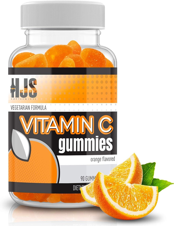 HJS Supplements Vitamin 35% OFF C Gummies Sale special price Flavor Health Orange Supports
