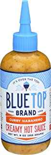 Blue Top Brand Creamy Hot Sauce, Curry Habanero, 9 OZ (Pack - 1)