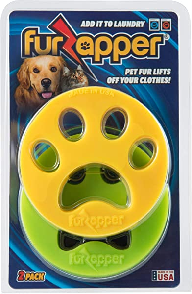 FurZapper 2 Pack Pet Hair Remover For Laundry