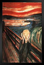 Poster Foundry Edvard Munch The Scream of Nature Expressionist Artist Painting Art Print 14x20 inches Black 168686