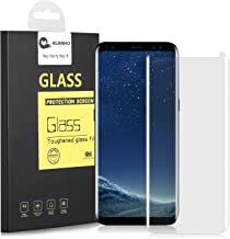 Galaxy S8 Plus Screen Protector[Full Cover] ,KUMIHO Tempered Glass Screen Protector For S8+ 0.25mm Screen Protection Case Fit Touch AccuratewithEasy to Install-Clear