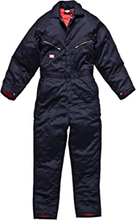 Lined Coverall, Navy Blue, Large
