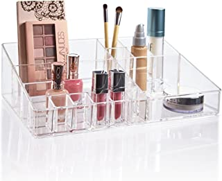 STORi Premium Quality Clear Plastic Cosmetic and Makeup Palette Organizer   Audrey Collection