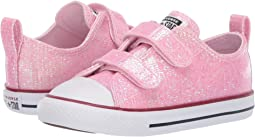 68380e35515c Pink Foam Enamel Red White. 190. Converse Kids. Chuck Taylor All Star 2V  Sparkle ...
