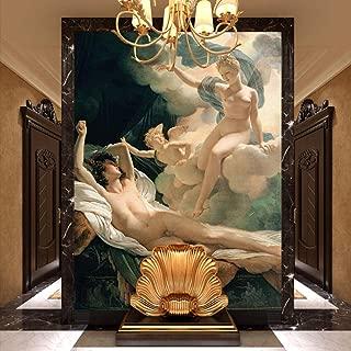 アイリス&マーフィー壁壁画アル油絵壁紙写真壁紙アートインテリア装飾寝室オフィスエンジェル壁紙-100x144cm