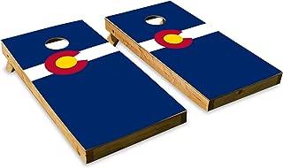Colorado State Flag - Cornhole Crew - ACA Regulation Size Cornhole Board Set