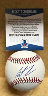 Austin Allen San Diego Padres Rookie Year Signed M.l. Baseball Beckett R14026 - Beckett Authentication
