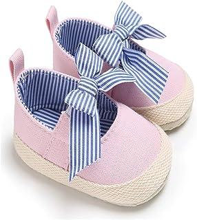 Zapatos Bebe NiñO NiñA Rojo Bebé ReciéN Nacido Bebé NiñAs Arco Antideslizante Zapatos De Cuna Suave Suela Zapatillas De De...