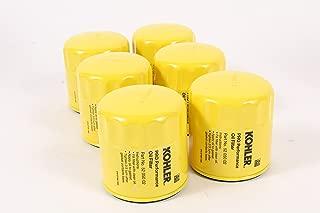 Kohler 52 050 02-S Pack of 6 Pro Performance Oil Filters