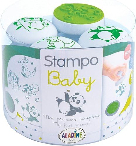 Aladine- STAMPO Baby Animaux, 03817