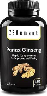 Panax Ginseng 2375mg, 120 Cápsulas   Mejora la concentraci