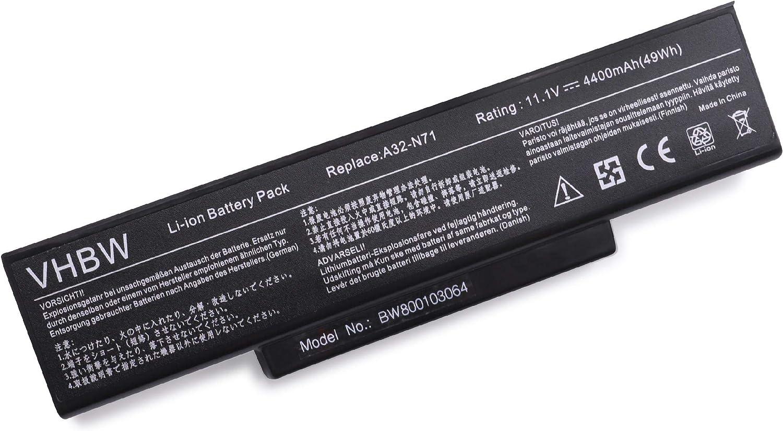 Vhbw Akku Für Asus X72dr X72j X72jr X72v X72vn X73b X73be X73br Notebook Laptop Wie A32