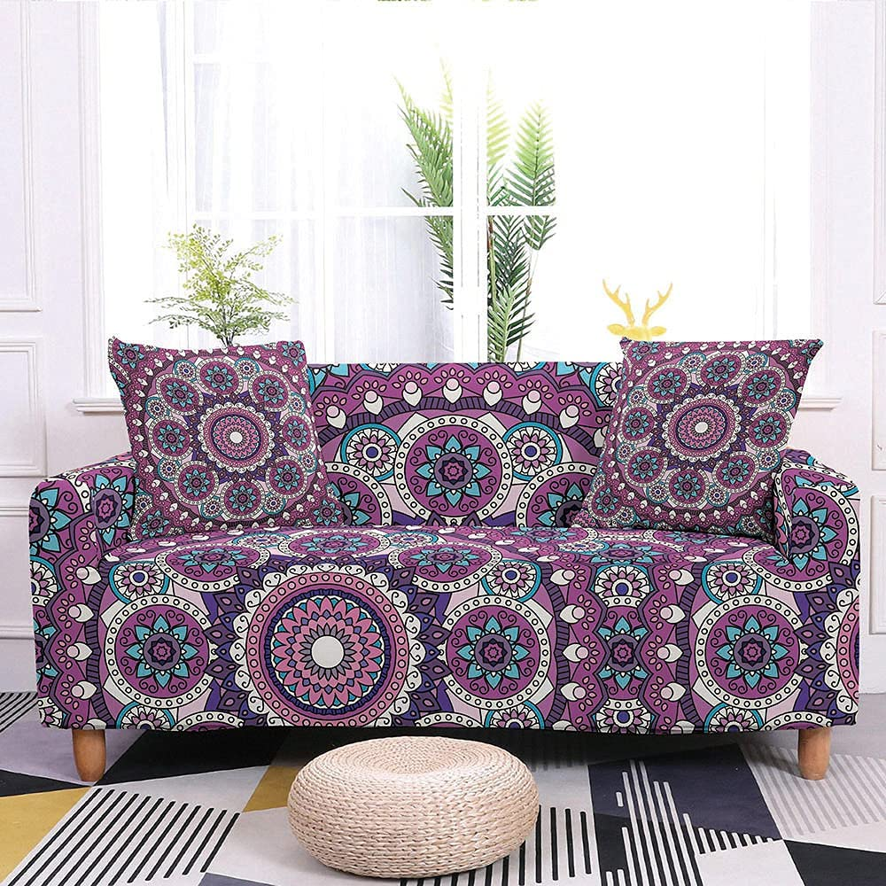 Couch Cover L Fashionable Shape Stretch Ethnic Slipcovers Boho Sofa Classic Bombing free shipping
