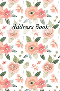 Address Book: Watercolor Flower Design - Keep Your Important Contacts in The One Organizer Name, Addresses, Email, Phone N...
