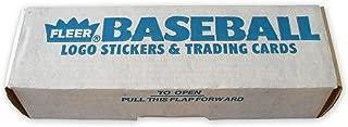 1985 fleer baseball set