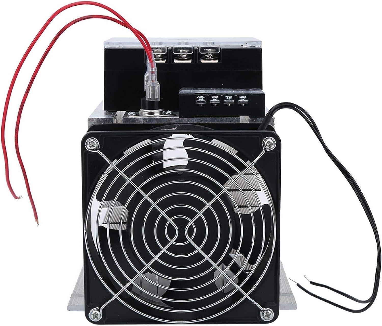 Controlador de módulo de arranque suave de motor GAESHOW trifásico TSR-120WA-R1 (12KW) para ventilador de bomba de agua(1 x Módulo + Disipador de calor)