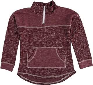 Girls 7-16 Space Dye Fleece 1/4 Zip Pullover