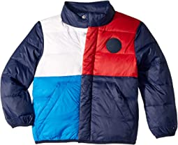 Colorblock Down Jacket (Little Kids/Big Kids)