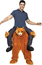 riding on a bear