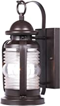 Westinghouse Lighting 6230100 Weatherby One-Light Outdoor Wall Fixture, Weathered Bronze Finish with Clear Glass