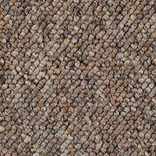 BODENMEISTER BM72181 Teppichboden Auslegware Meterware Schlinge braun beige 200, 300, 400 und 500 cm breit, verschiedene Längen, Variante, 2 x 4 m
