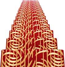 JIAJUAN Stair Carpet Treads Non-Slip Indoor Self Adhesive Treads Large Rugs Mats, 14 Mm, 6 Styles, 5 Sizes (Color : F-1 pc...
