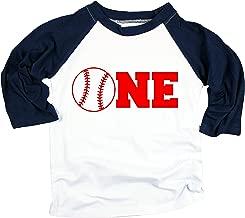 Baseball One Boys Birthday Shirt 1st Birthday Shirt Boys Blue Baseball T Shirt for Boys 1st Birthday Shirt